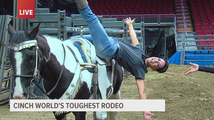 The rodeo returns to Des Moines this weekend