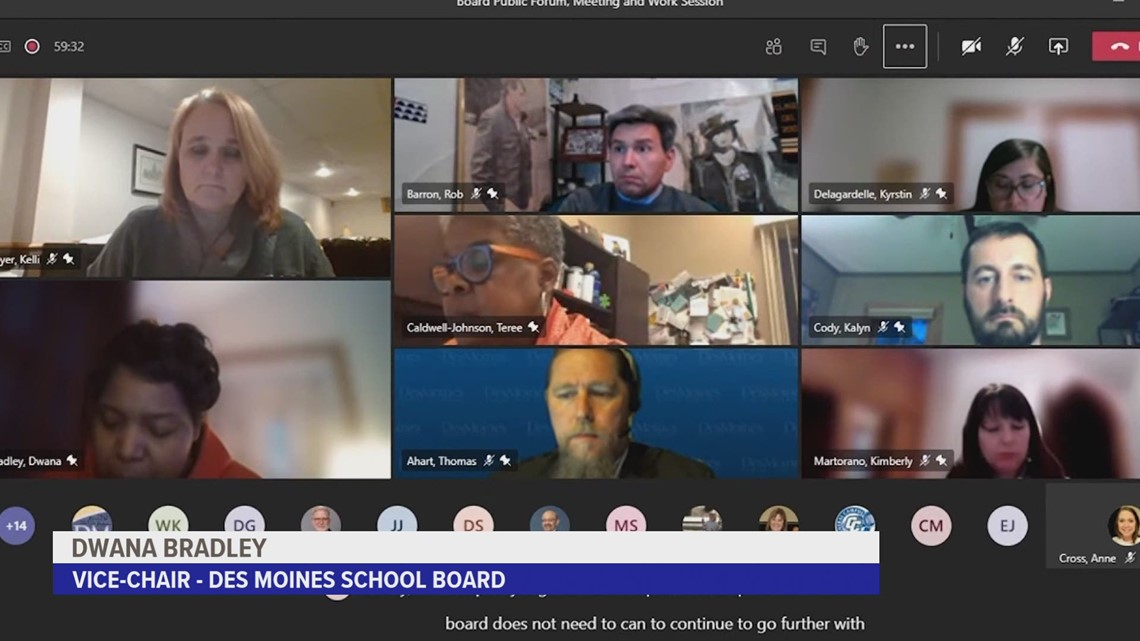 Des Moines School Board backs plan to remove school resource officer program, but won't vote on it
