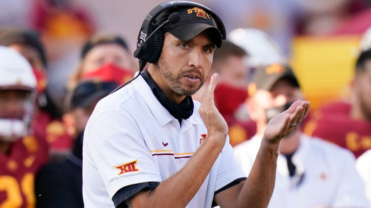Matt Campbell agrees to contact extension at Iowa State through 2028