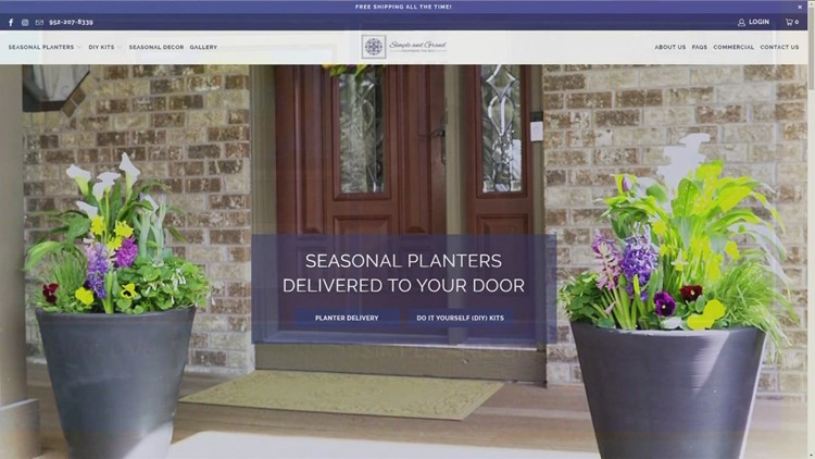 Make the entrance to your home or business Simple & Grand!