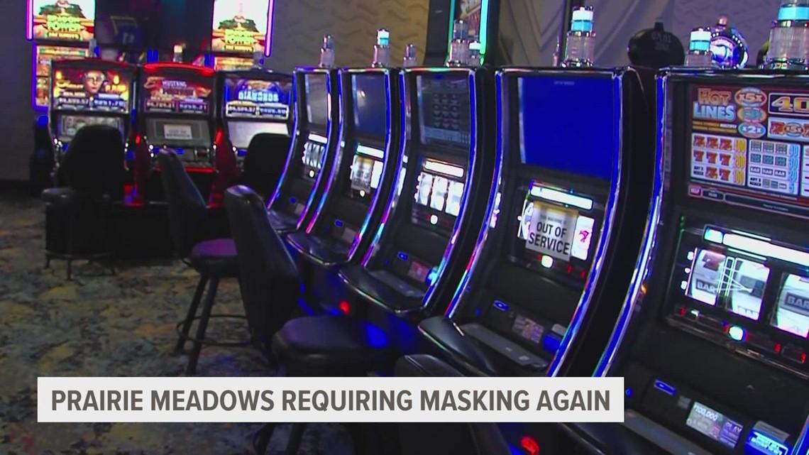 Prairie Meadows to bring back mask mandate