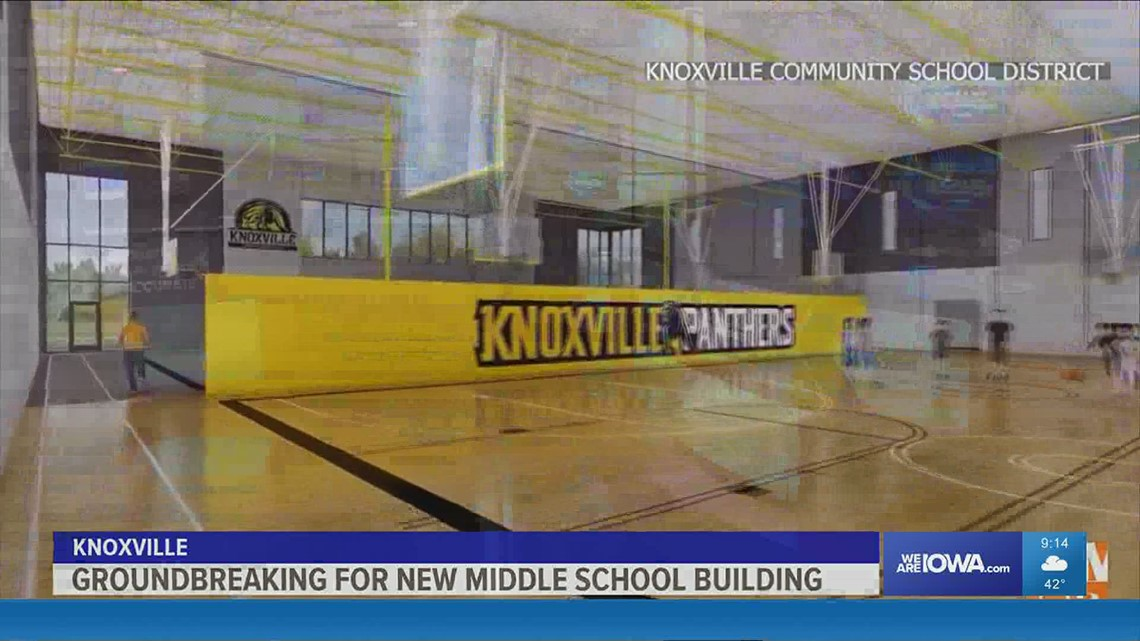 Groundbreaking held for new Knoxville Middle School building