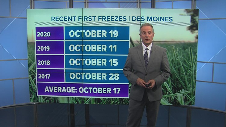 WEATHER LAB | How can frost develop when the temperature is above 32°?