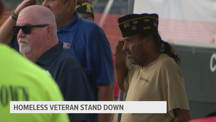 Homeless Veterans Stand Down in Des Moines aims to serve close to 500 Iowa veterans in need