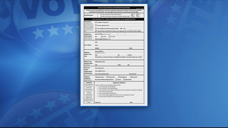 Here's how to register to vote in Iowa