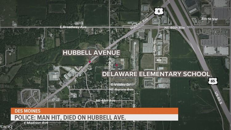 Pedestrian, driver identified in fatal Des Moines crash