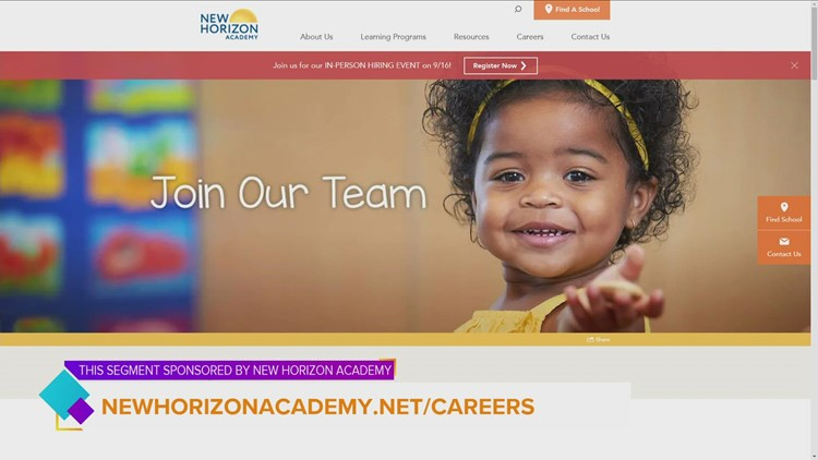 Incredible employee benefits offered at New Horizon Academy | Paid Content