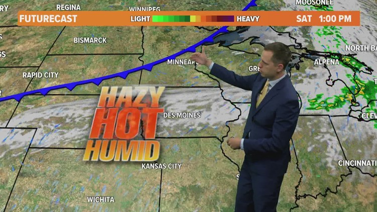 Morning Weather Update: July 22, 2021