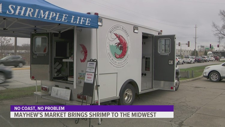Colossal, jumbo & Royal Reds: Mayhew's Market is all about shrimp