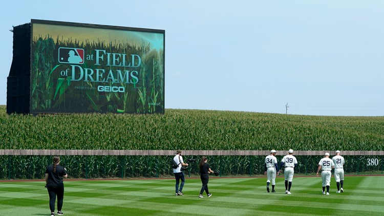 Field of Dreams matchup most-watched MLB regular season game in 16 years; Dyersville already preparing for 2022