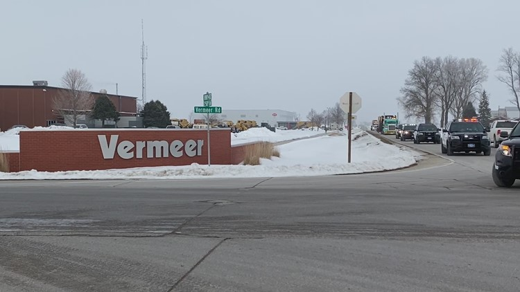 Vermeer Corporation in Pella kicked of the 50th Anniversary of the LARGE ROUND BALER
