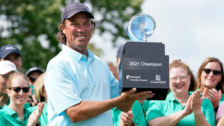 Stephen Ames wins Principal Charity Classic for 2nd senior PGA title