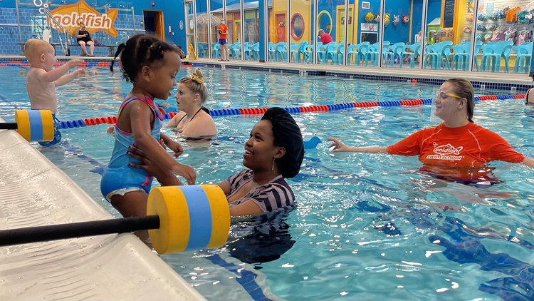 Swim school says fewer kids took swim lessons during pandemic, worry about potential drownings this summer