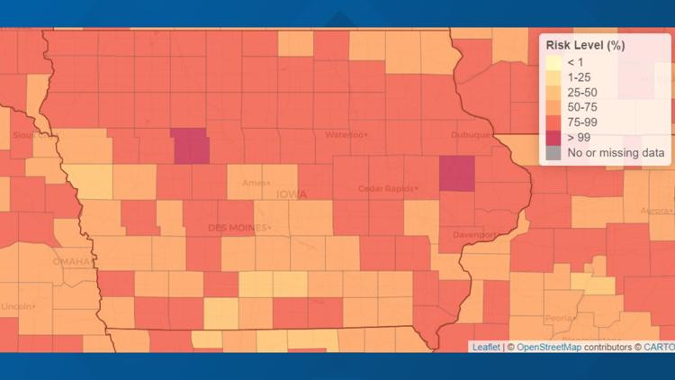 Planning To Travel For Thanksgiving Use This Tool To Check Your Risk Of Getting Coronavirus First Weareiowa Com