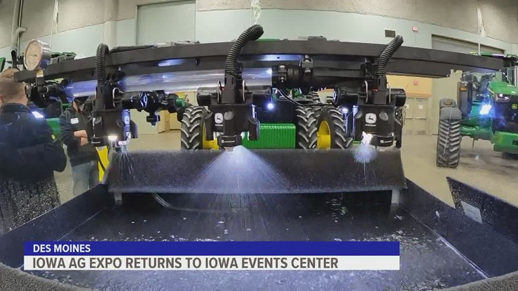 2021 Iowa Ag Expo gets underway in Des Moines