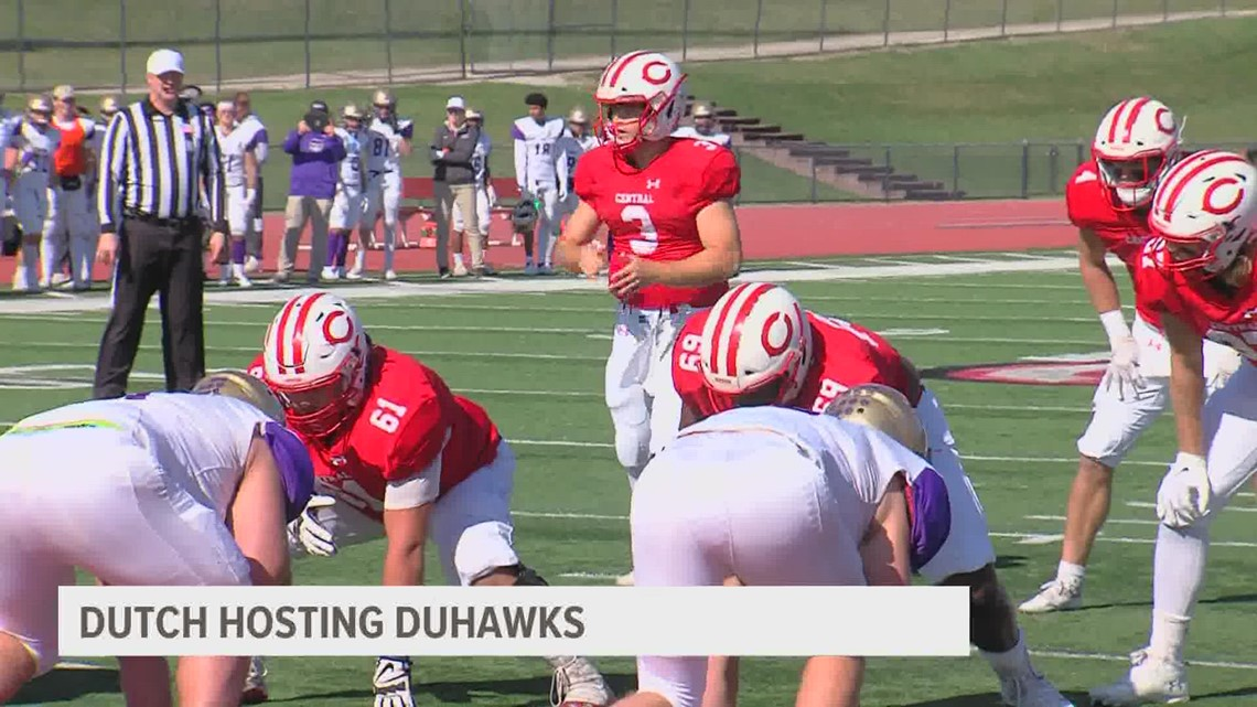 Central College rolls into top 10