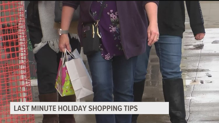 Afraid of overspending this holiday season? Here are some last-minute shopping tips