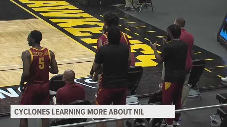 Iowa State men's basketball players excited by NIL opportunities