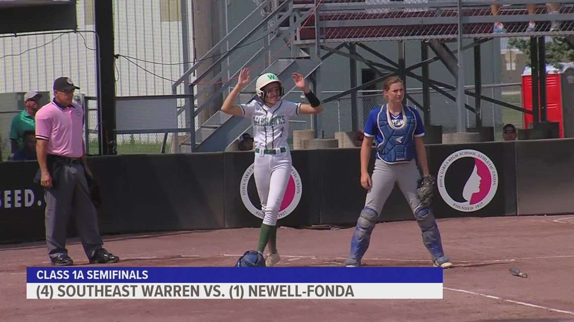 Iowa high school state softball tournament wraps up semi-finals