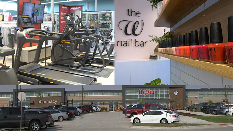 Nail salon, fitness showroom: look inside Hy-Vee's newest store in Grimes