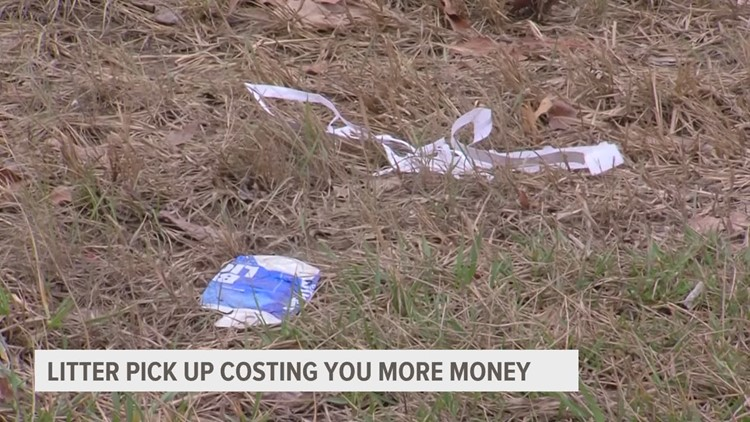 Noticing more trash on the side of Iowa's roads? Here's why COVID may be to blame