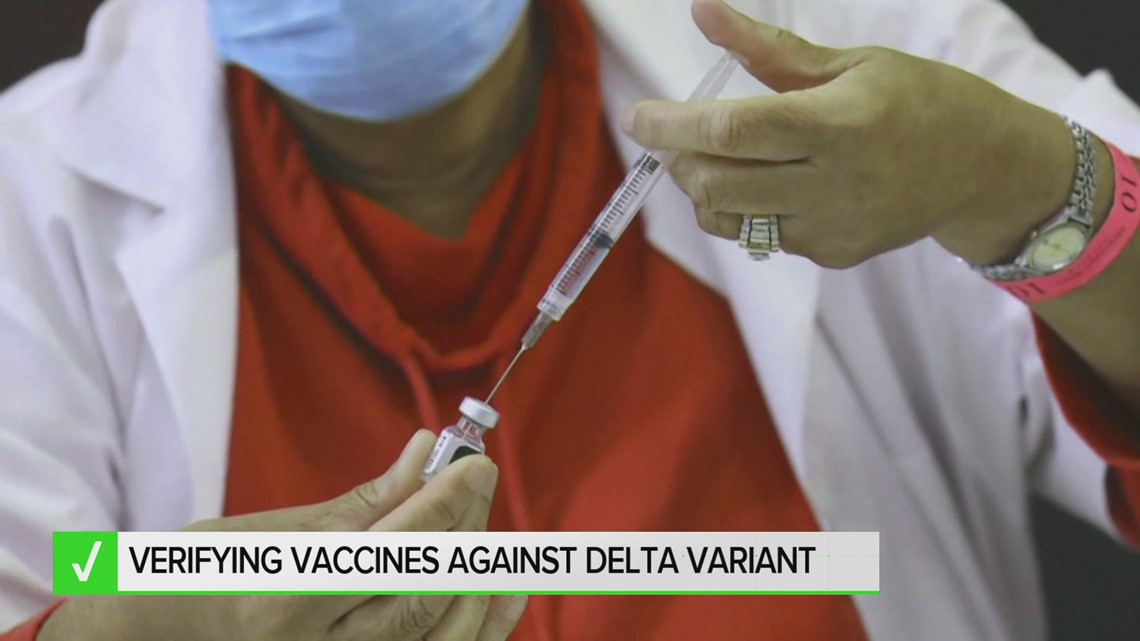 Yes, COVID-19 vaccines are effective against the Delta variant