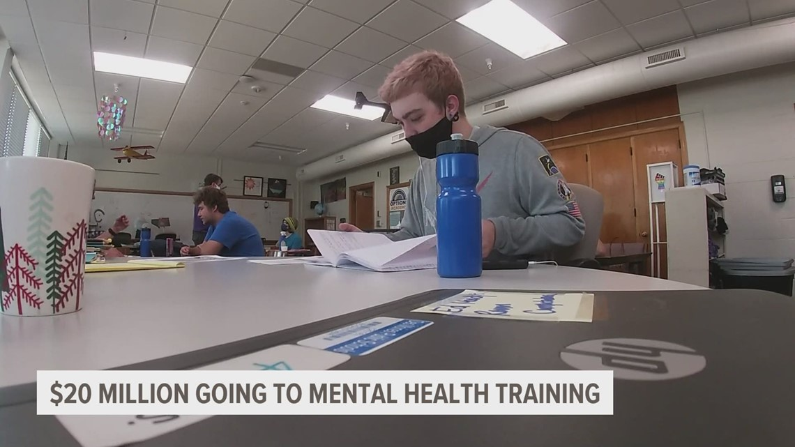 State allocates $20 million to mental health training for teachers