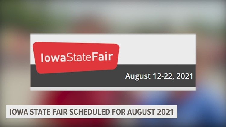 Iowa State Fair returning in 2021 with new attractions and COVID-19 safety plan