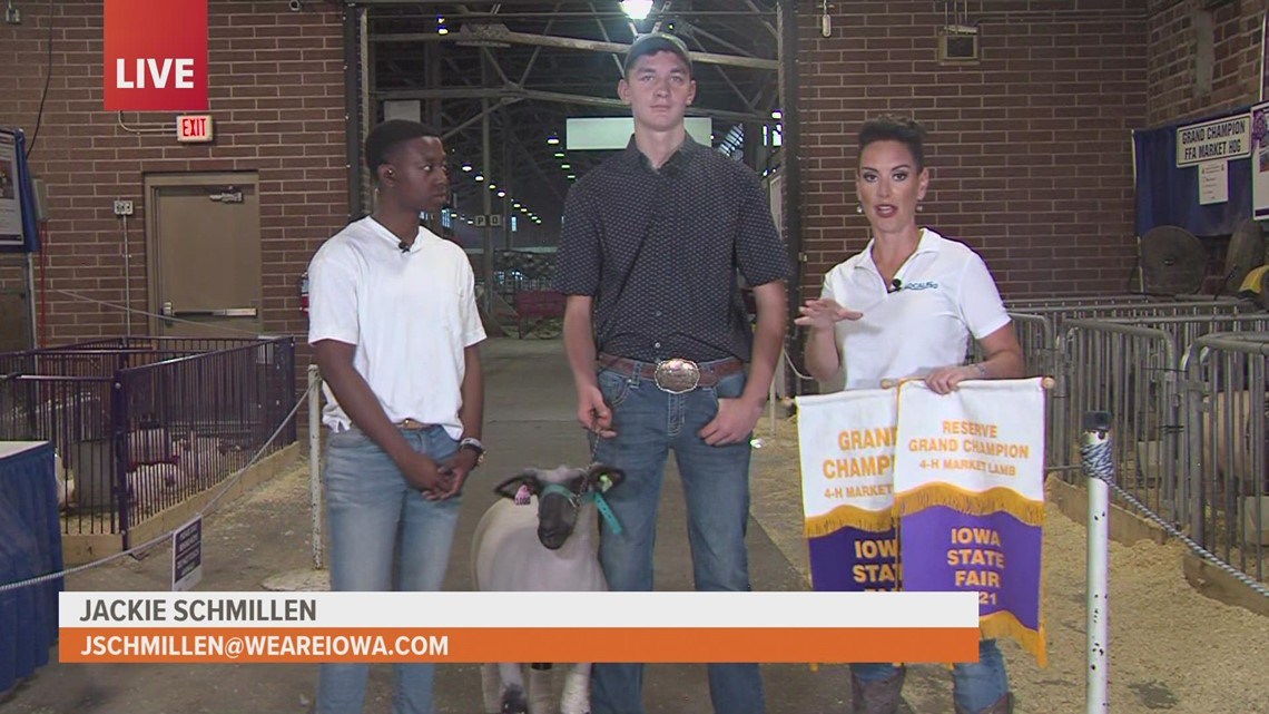 Live at the fair: The story behind 2021 Grand Champion, Reserve Grand Champion titles