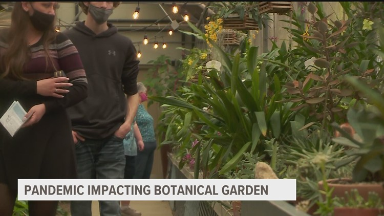 Greater Des Moines Botanical Garden provides oasis amid pandemic pains