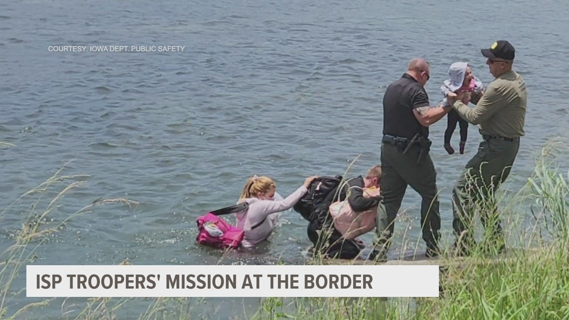 Gov. Reynolds, Iowa Department of Public Safety detail troopers' mission on the Texas border