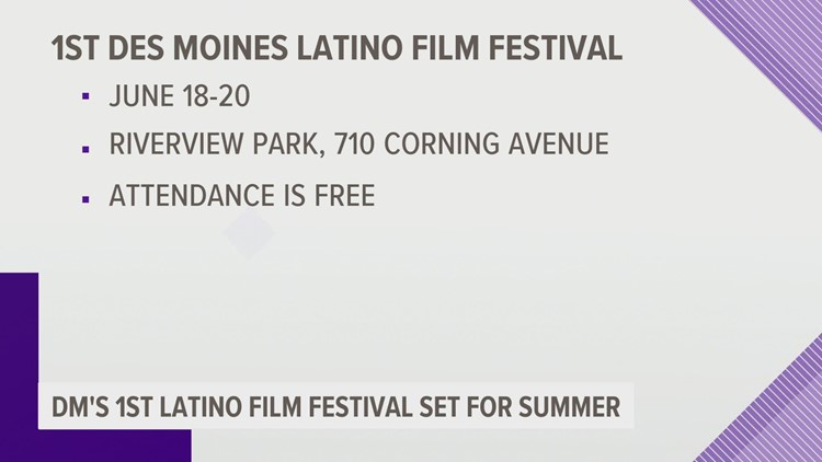 First Latino Film Festival in Des Moines scheduled for June 18-20