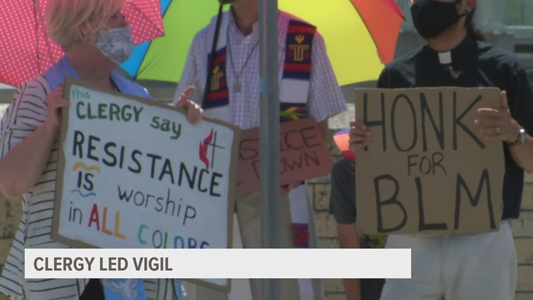 Following the death of George Floyd, this faith-based Des Moines group has protested weekly for community change