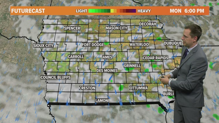 Midday Weather Update: May 10, 2021