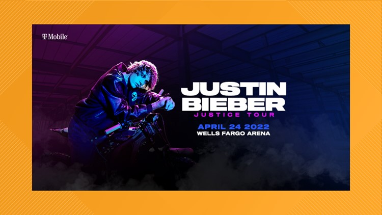 Justin Bieber 'Justice Tour' coming to Wells Fargo Arena in 2022