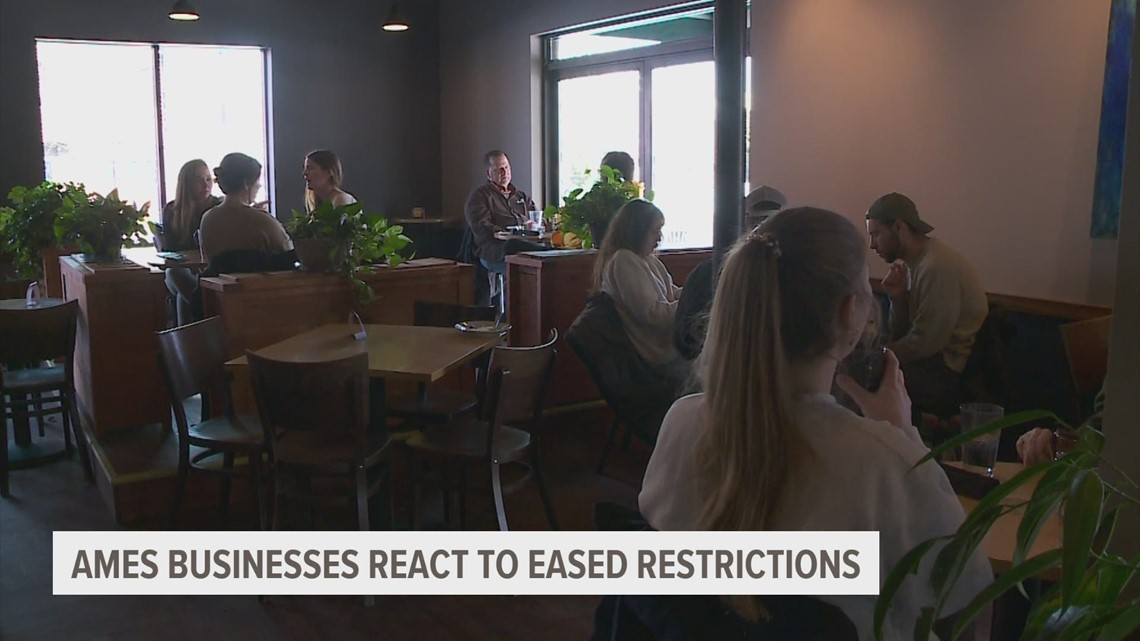 Ames businesses maintain safety protocols amid eased restrictions - Local 5 - weareiowa.com