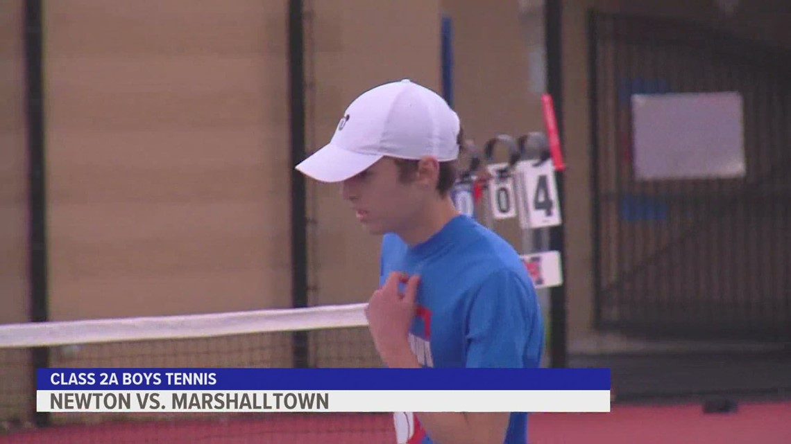 Marshalltown tops Newton in 2A Boys Tennis