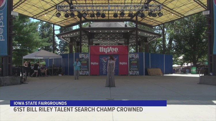 Bill Riley Talent Search champion crowned at 2021 Iowa State Fair