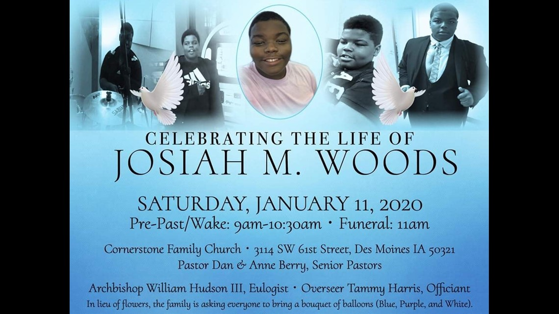 Video Candlelight Vigil Held For Josiah Woods 14 Year Old Killed On New Years Day Weareiowa Com