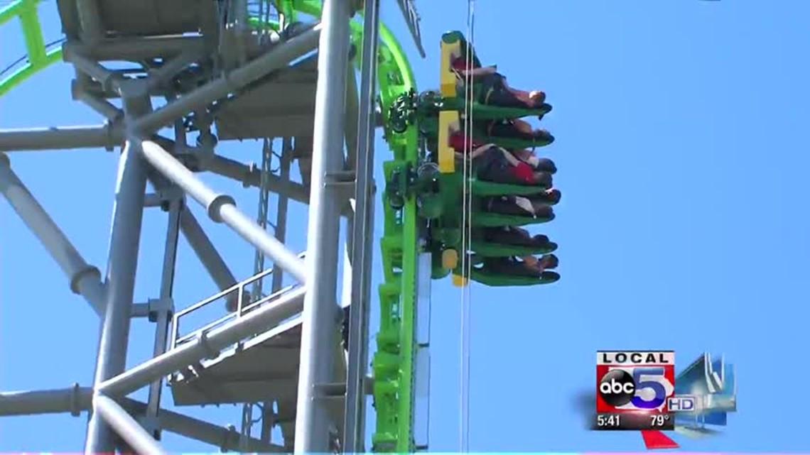Adventureland Unveils Newest Roller Coaster Weareiowa Com