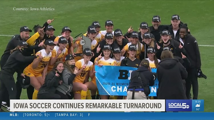 Iowa soccer looking to make history in NCAA tournament