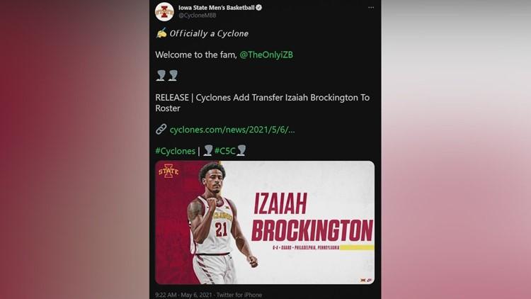 Cyclones add versatile Izaiah Brockington from Penn State