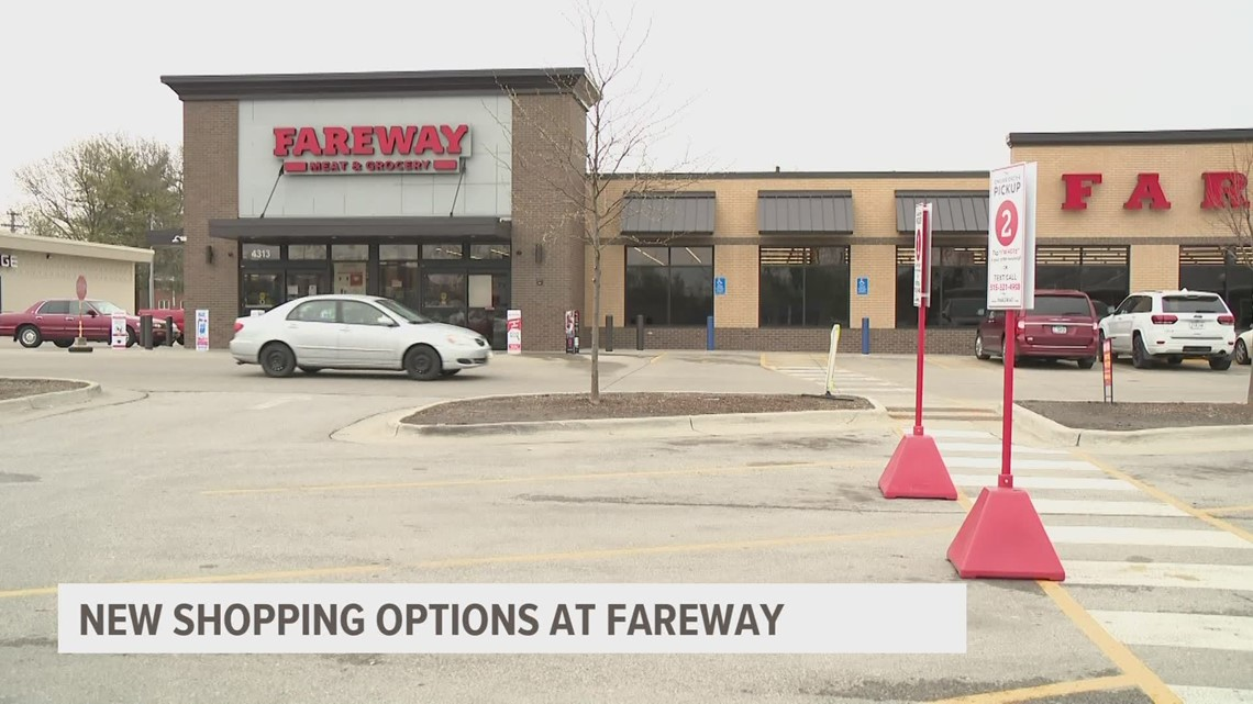 Fareway offering online ordering, curbside pick-up for shoppers