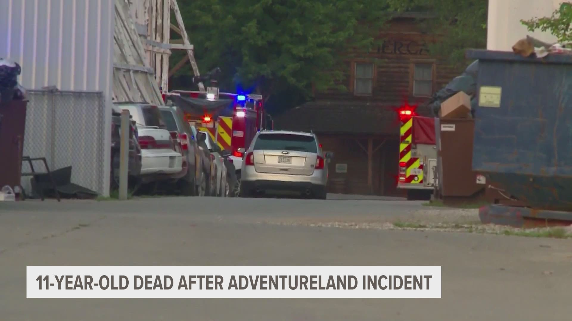 Adventureland Park Accident 11 Year Old Killed On Raging River Weareiowa Com