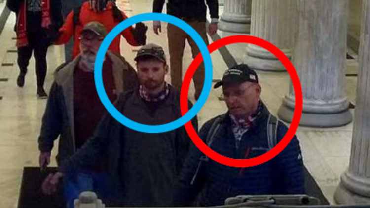 Iowa man and his son arrested in US Capitol riot claimed 'Antifa' was behind damage