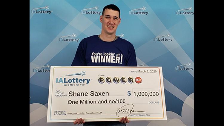 $1 million Powerball ticket sold in northwest Iowa