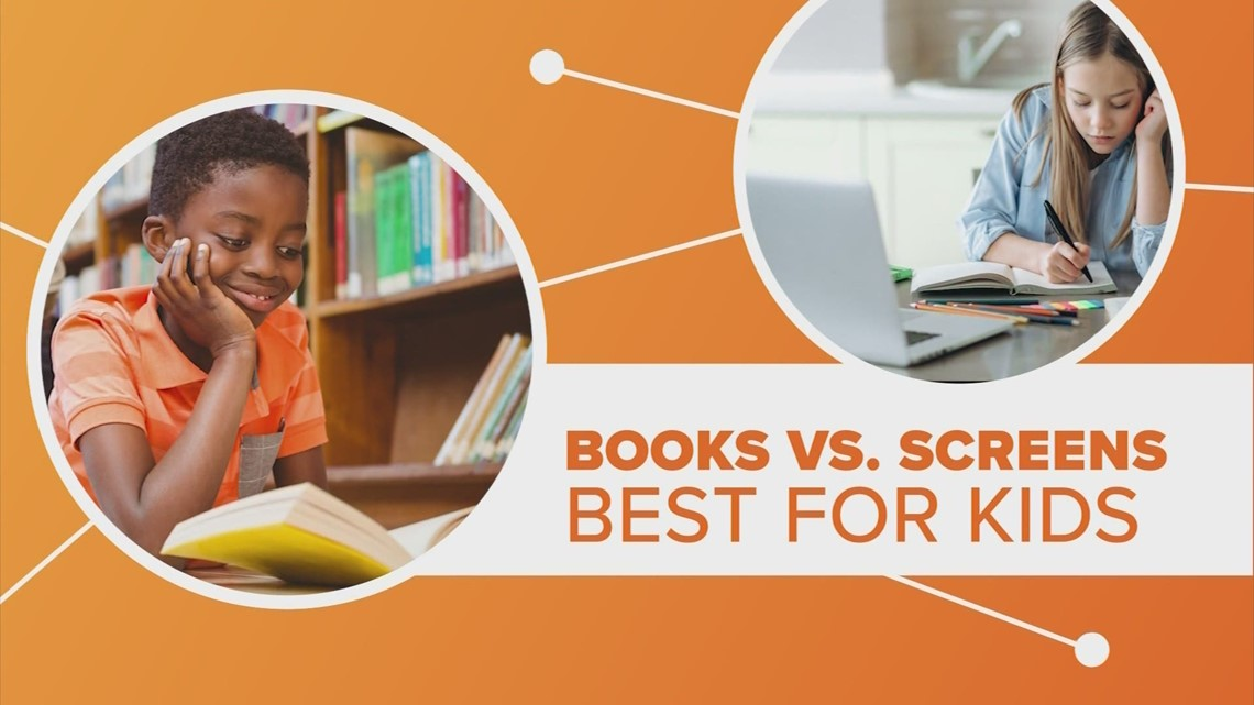 Connect the Dots: How does reading on a screen stack up against reading an actual book?