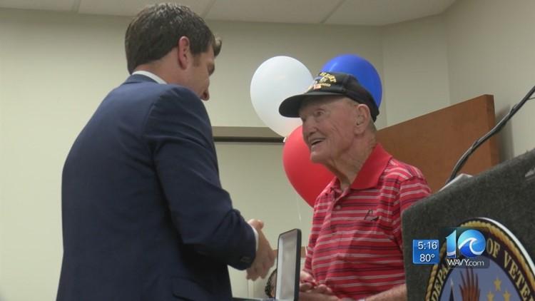 World War II veteran who fought in Battle of the Bulge finally receives Bronze Star
