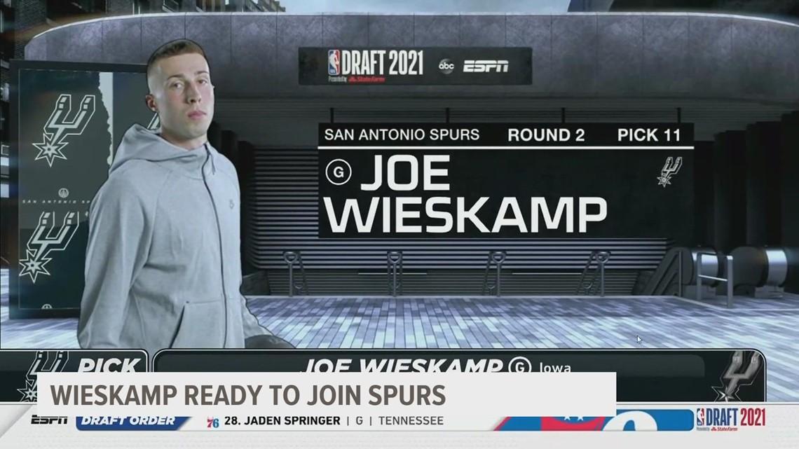 San Antonio Spurs select Joe Wieskamp in 2nd round of 2021 NBA Draft