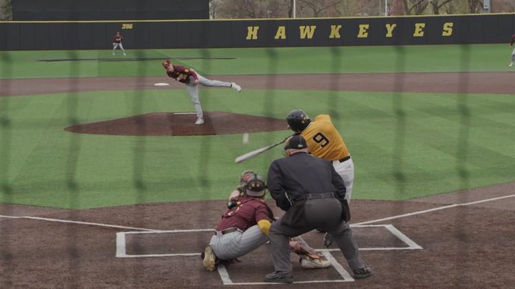 Iowa Hawkeyes hitting their stride on the diamond